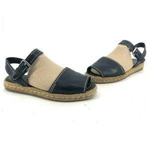 Prada Womens Espadrille Raffia Sandals Shoes Sz 39